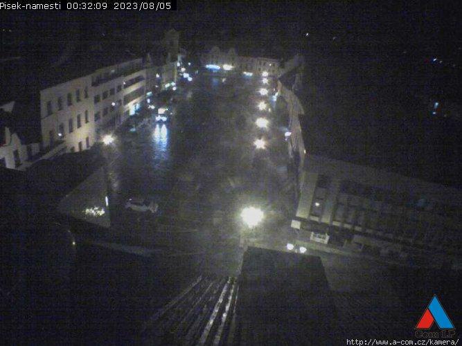 Webová kamera Písek - Velké náměstí