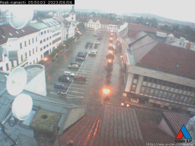 Písek, Velké náměstí, zdroj: www.a-com.cz