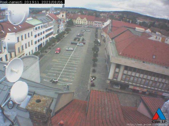 Webcam Písek - Velké náměstí (Großer Stadtplatz)